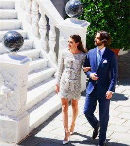 Charlotte Casiraghi matrimonio reale con Dimitri Rassam 1