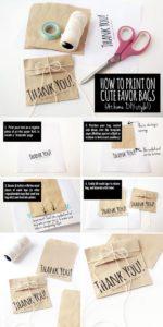 Tutorial sacchetti in carta stampatifai da te 1