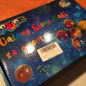 Joyjoz Galaxy Slime Balls gioco idea regalo recensione 1