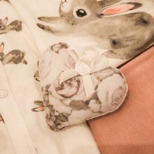 Coccole Soffici cuoricini in stoffa fatti a mano profumati 1
