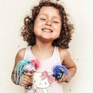 Sono arrivate le Curli Girls bamboline dalle acconciature glam Rocco giocattoli 1