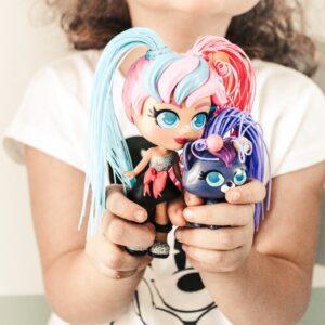 Sono arrivate le Curli Girls bamboline dalle acconciature glam Rocco giocattoli 3