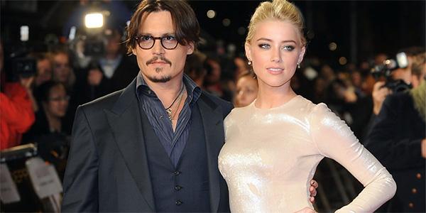 Johnny Deep ed Amber Heard sposi … a sorpresa !