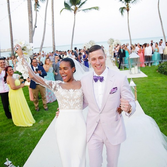 Arlenis Sosa e Donnie McGrath Just Married