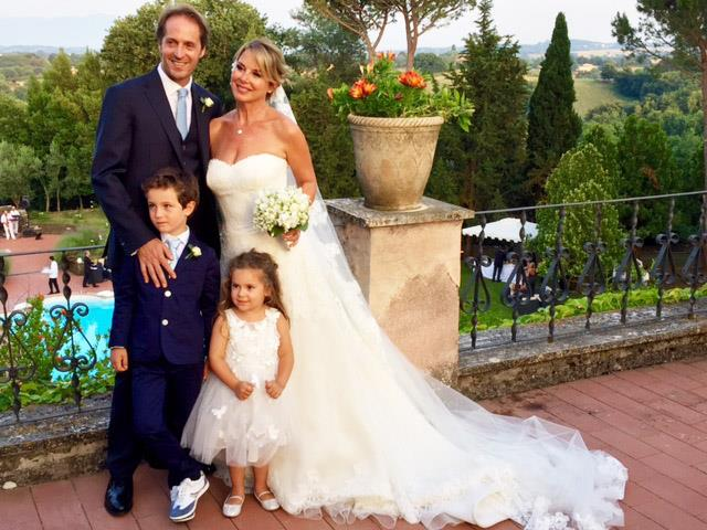 Il matrimonio di Monica Leofreddi