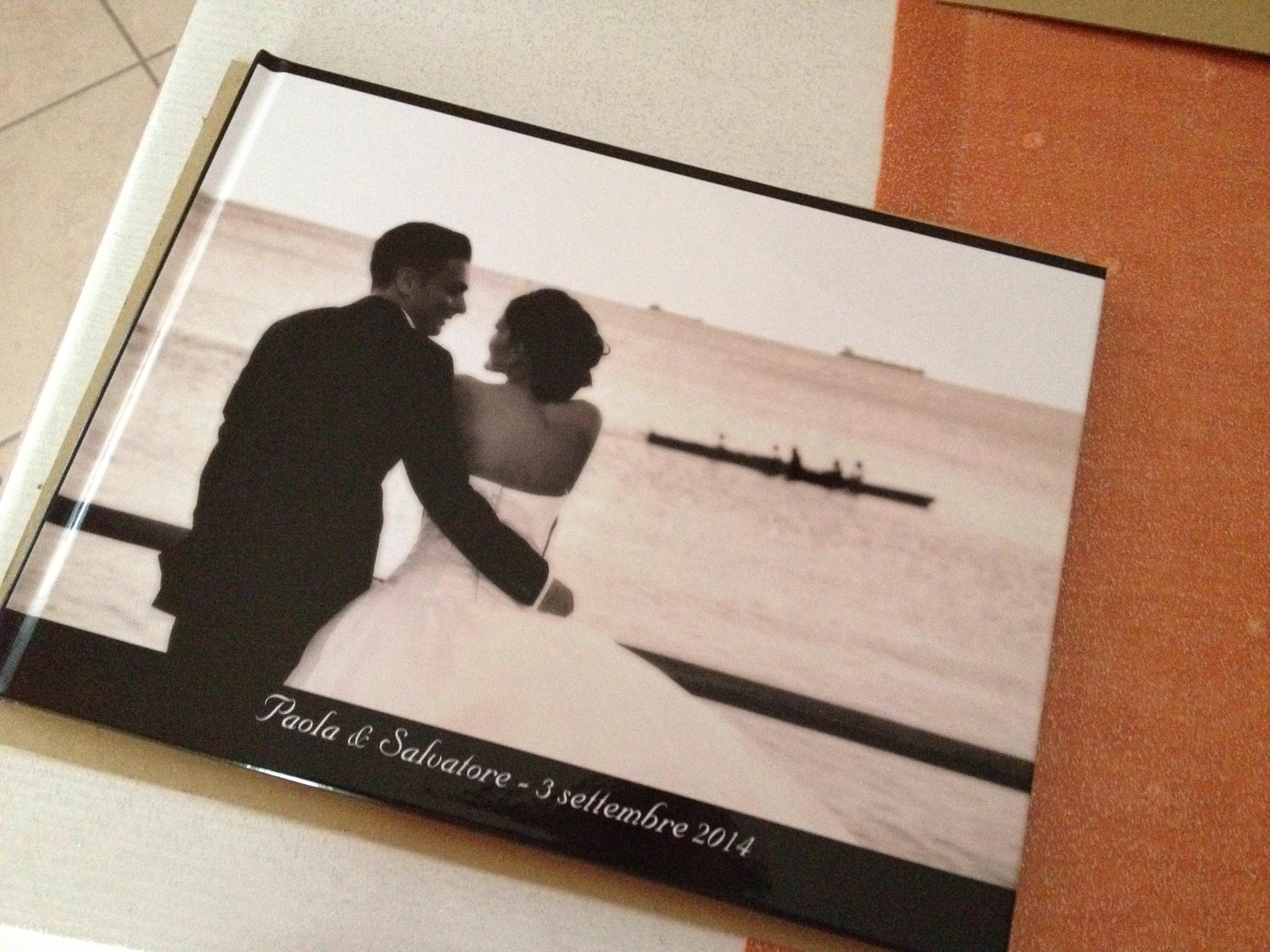 Album matrimonio low cost con Photobox