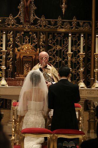 È difficile sposarsi in una chiesa diversa dalla vostra?