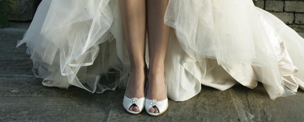 Scarpe da sposa: Non rinunciare al tacco !