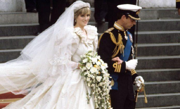 Matrimoni reali Carlo D'Inghilterra e Lady D