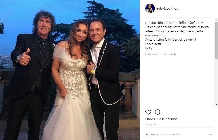 Il matrimonio di Stefano D'Orazio dei Pooh
