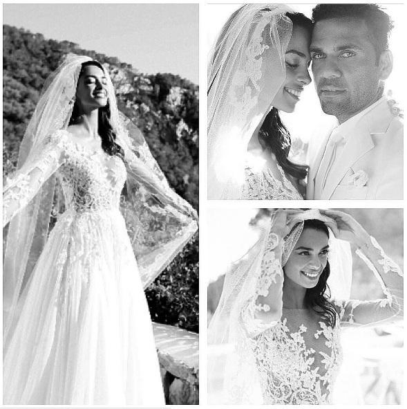 Dani Alves e Joana Sanz sposi