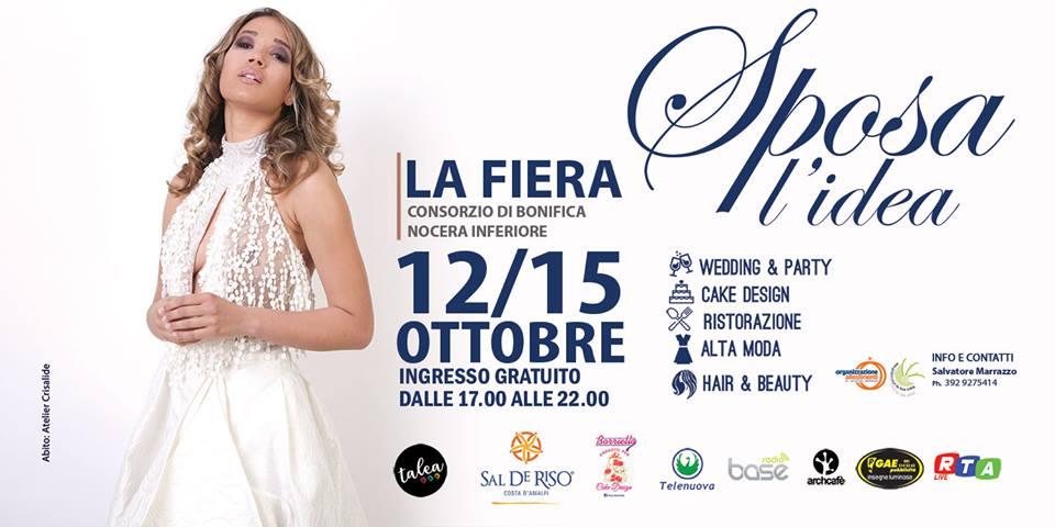 12-15 ottobre Sposa l'idea la fiera sposi a Nocera Inferiore