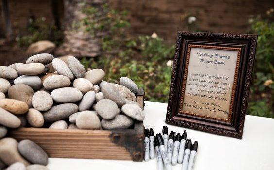 Come usare i sassi ad un matrimonio