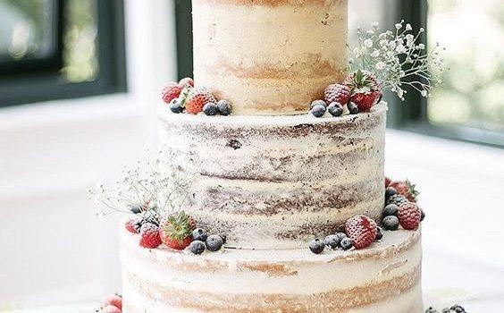 Torte matrimonio naked cake