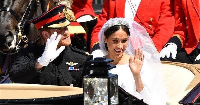 Harry e Meghan matrimonio da favola