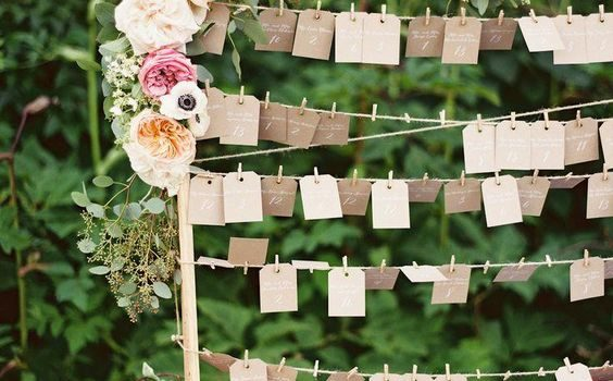 Tableau matrimonio shabby chic idee e tutorial