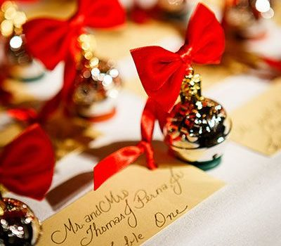 Christmas Wedding Inspiration Board