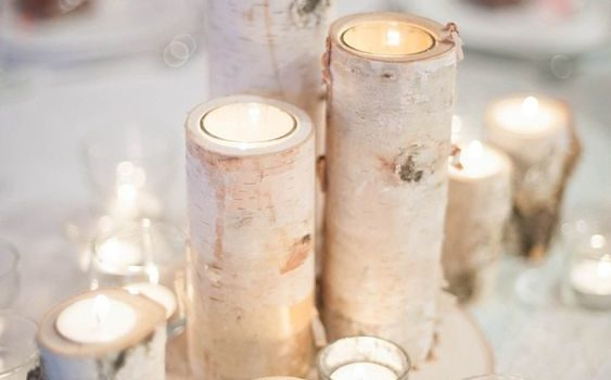 White Christmas Wedding Inspiration Board