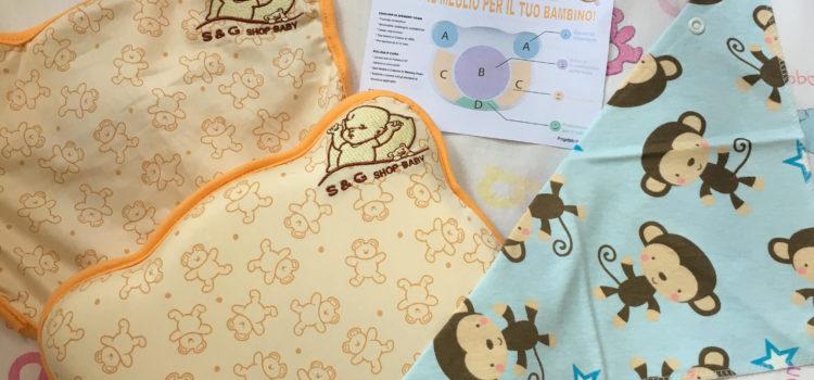 Review cuscino neonato prevenzione plagiocefalia di S&G shop-baby