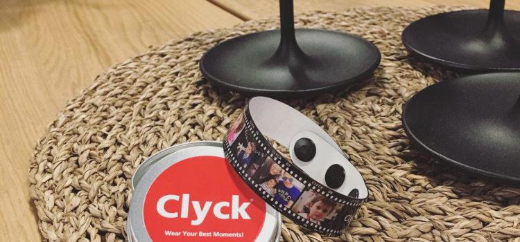 Clyck bracelet foto ricordo a portata di polso idea regalo