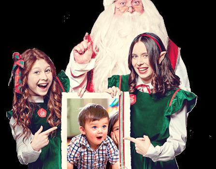 Elfisanta video messaggio di Babbo Natale personalizzato idea regalo
