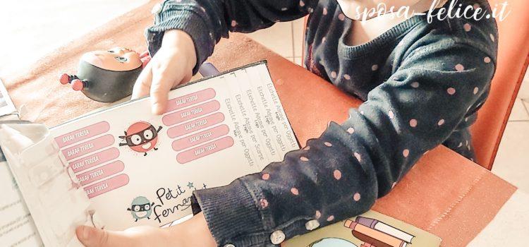 Petit Fernand etichette personalizzate per la scuola e non solo