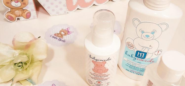 Baby Coccole prodotti italiani naturali per la cura dei bambini recensione